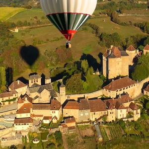Montgolfière Curemonte