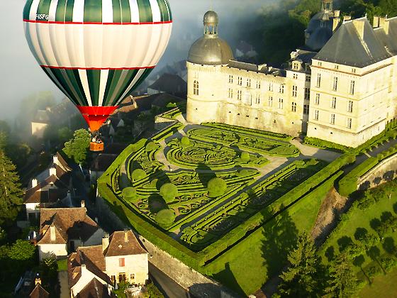 Vol en montgolfière exclusif