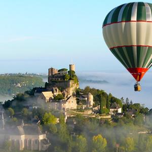 Turenne brume montgolfiere