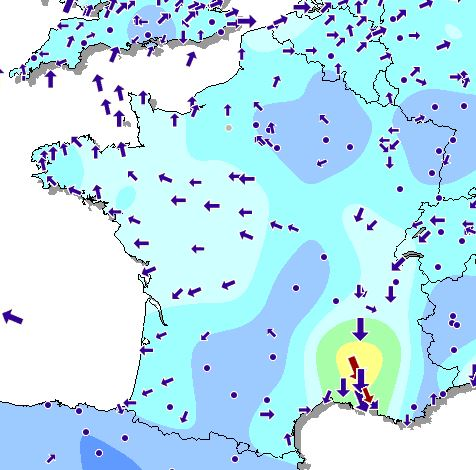 Carte Xcweather